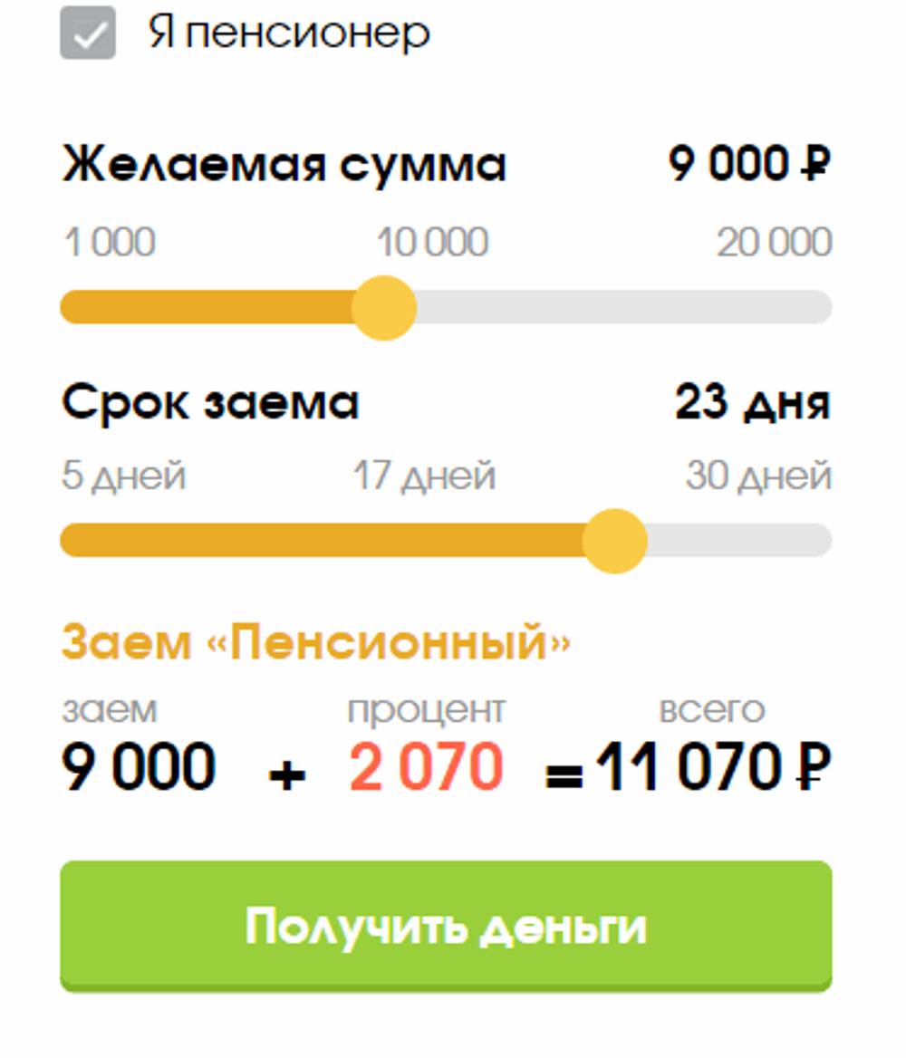 Экспресс Финанс калькулятор
