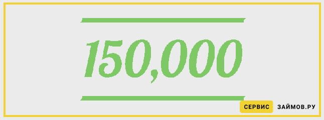 срочный займ 150000 300 тыс с долгами взять