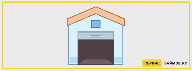 Займ в МФО под залог гаража